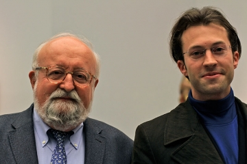 Krzysztof Penderecki mit Joachim Nikolai